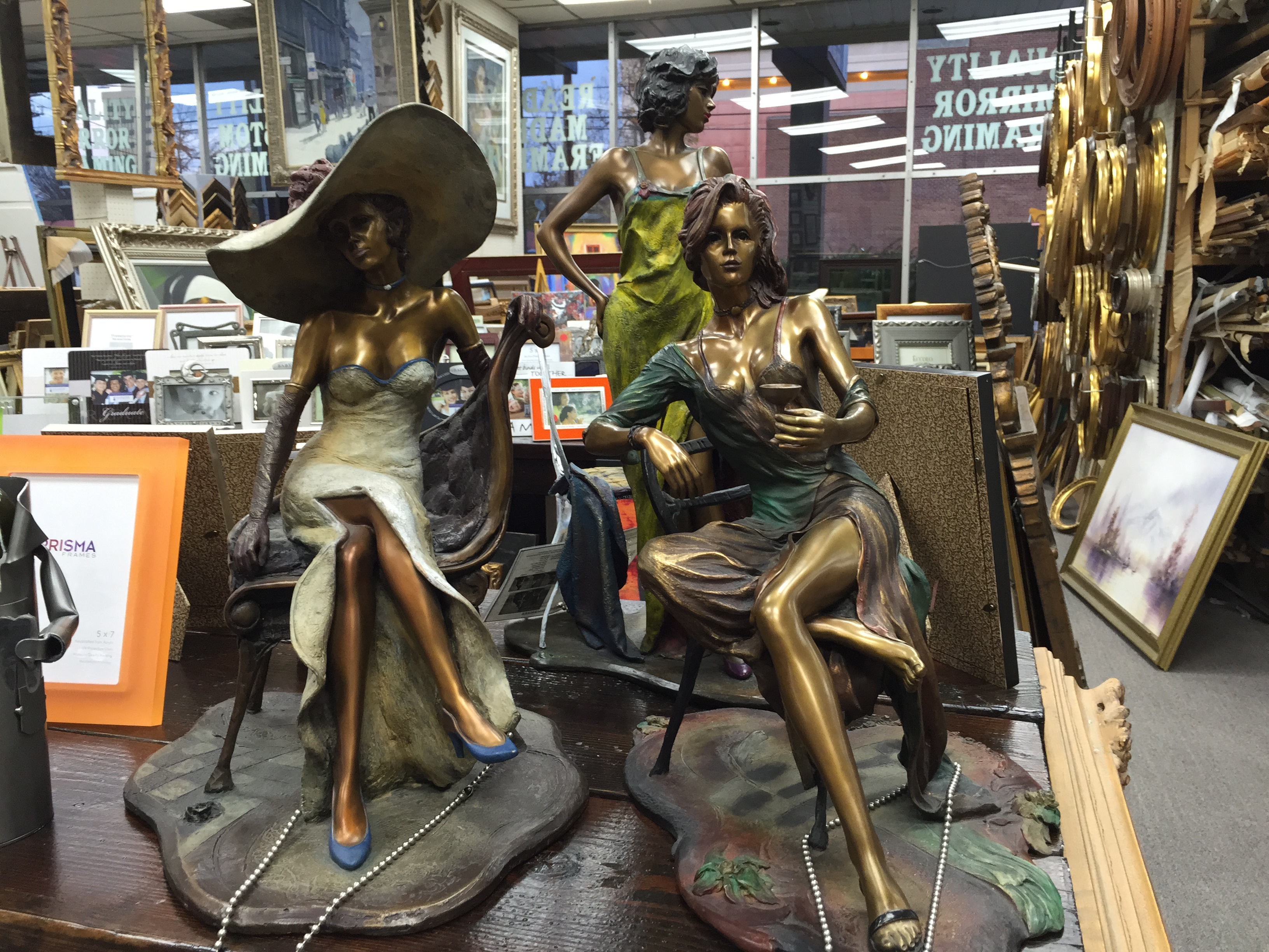Bethesda Custom Framing Sculptures